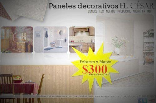 Fotolog de elcesarmolduras: Panel,mdf,fachaletas,muros,paredes,celing